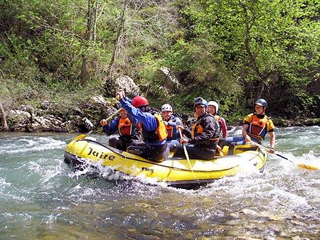 Consejos para el Rafting