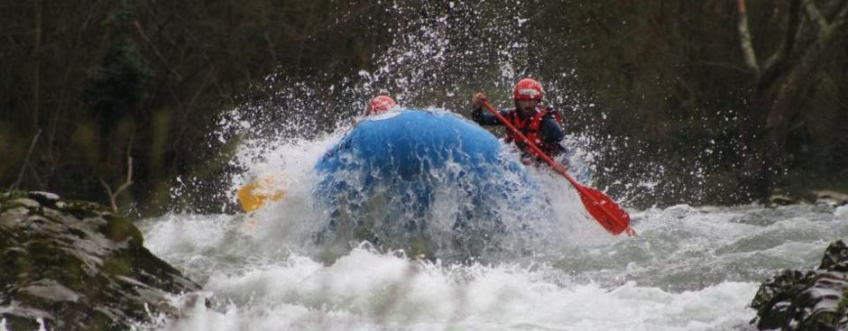 diversion rafting Asturias